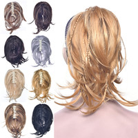 12 pouces Synthetic griffe de queue de queue de queue de queue de ponge de cheveux humains d'extensions de cheveux humains en 8 couleurs poneytails mw067
