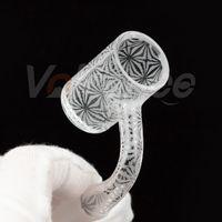 Hookahs Volledig Las Zandstraalde Quartz Banger Od 25mm 14mm Mannelijke 90 Luxe Roken Accessoires voor DAB RIGHT Water Pipe Bong
