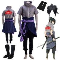 Anime cosplay Shippuden Uchiha Sasuke Halloween Cosplay Costume Halloween costumes comic cosplay G0913