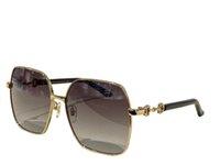 Summer Sunglasses For Men and Women 1024S style Anti-Ultraviolet Retro Plate Square Metal Full Frame Special design fashion Eyeglasses Random Box