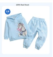 Girls Clothing Set Unicorn Hoodies and Pant Suit Fall Kids Boutique Clothes 2-7T Children Long Sleeves Cotton Outfits Good Quality