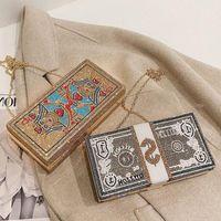 "WOMENS BRAND BAG LOUIS""VITTON DESIGNER Vv2q Rhinestone Cluth Dollar Bag Evening Shoulder Clutch Diamond Bill Fashion Purse Handbag Xpmq"