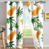 Nordic Einfache einfache Vorhang Stoff Shading Sonnencreme Wohnzimmer Schlafzimmer Leopard Vorhang Produkte