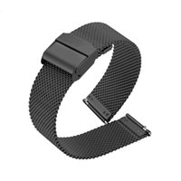 Watch Bands 20mm 22mm Magnetic Strap For Samsung Active 2 40 44mm Gear S3 Frontier Bracelet Huawei GT GT2 2e Pro Galaxy 3 45 42mm Band