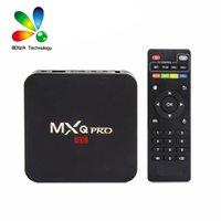 MXQ PRO 1GB 8GB 4K TV 박스 RK3229 쿼드 코어 안드로이드 7.1 스마트 OTT TV 셋톱 박스