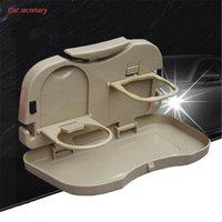Auto-Organizer Multifunktions-Sitzrücken-Aufbewahrungsständer-Esstisch-Falten-Getränk-Tablett-Tasche Kinderwasser-Becherhalter