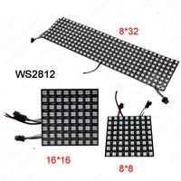 Schermata del pannello WS2812B all'ingrosso; 8 * 8/16 * 16/8 * 32 pixel DC5V a colori 256 pixel digitale programmabile programmabile schermo a led a LED indirizzabile