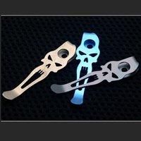 Edc التيتانيوم عميق حمل جيب كليب لسارب قابلة للطي سكين diy عودة مقاطع مصباح يدوي مظلة الحبل قلادة OT59--