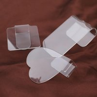 False Eyelashes TDANCE Transparent Hand Strap Pads Pallet Reusable Set For Easy Fan Eyelash Extension Glue Holder Beauty Makeup Tools