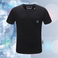 Brand Brand di alta qualità P Diamante di vendita a caldo Taroke Philiplan New Hot Style Ground Neck Neck T-shirt T-shirt a maniche corte # 106