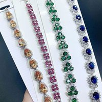 Link, Chain Bracelets On Hand Women Trendy For Jewelry Fashion Wedding Ladies