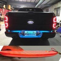 4D LED Carro Emblema Emblema Luz Para Ford Focus 2 3 Kuga Fusion Fiesta Escape Ranger Musten Mondeo Galaxy Badge Logo Light