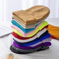 Beanies Unisex Multicolor Autumn & Winter Beanie Hat Men Basic Daily Women Soft Knitted Elegant All-match Streetwear Cap