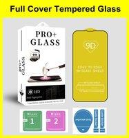 Case Friendly 9D Protezione dello schermo per iPhone 13 12 11 Pro Max Mini 6 7 8 Plus Super Anti Shock 9h in vetro temperato con pacchetto al dettaglio