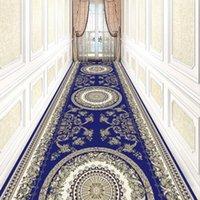 카펫 Reese 전통 중국어 토템 로비 롱 지역 러그 계단 복도 홈 장식 복도 통로 파티 웨딩 안티 슬립