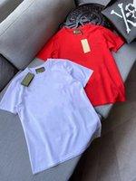 Высокая футболка Качественные фабрики Прямые продажи с короткими рукавами Мода Печать Мужской и женской футболки повседневная открытая одежда S-5X