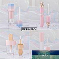20pcs Pink Lip Gloss Tint Plastic Tubes DIY Empty Makeup Big Lipgloss Liquid Lipstick Case Beauty Packaging F22861 Factory price expert design Quality Latest Style