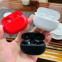 Newest TWS Buds Wireless Earbuds In-Ear Earphone Bluetooth Headphones For Cell Phone Red White Black 3 Colors