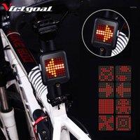 أضواء الدراجة ضوء فيفيال ضوء USB قابلة للشحن للماء للدراجات تحذير تحول إشارة الدراجات أدى الملحقات 1