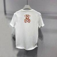 Hot Designer T Shirt Uomo Luxury Black Bianco Abbigliamento Hip-Hop Manica corta Top Tee di alta qualità Punkr Print Brand Man Manica corta Casual 20