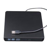 USB 3.0 외부 콤보 DVD / CD 버너 RW 드라이브 CD / DVD-ROM CD-RW 플레이어 PC 노트북 컴퓨터 구성 요소 용 광 드라이브