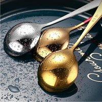 Eisdessert Löffel Candy Griff Kaffee Kaffee Löffel Gold Edelstahl Küchenbar Innenware Geschirr Will und Sandy GWC6437