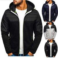Men's Trench Coats 2021 Autumn Jacket Baseball Windbreak Spring Casual Slim Outdoor Hoodie