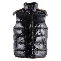 Moda Inverno Gilet Designer Designer Uomo Giacca senza maniche Giubbotti caldi per gilet per il colletto di stand uomo di alta qualità