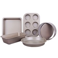 Oven Baking trays 5 pcs of baking pasty molds cake pan pizza tray