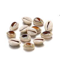 50 pçslote natural pequeno mar concha forma forma diy jóias encontrar acessórios acessórios seashell colar bracelet bead bwe7132