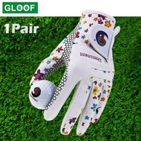 Five fingers gloves mitten cycling Golf Glove Women's Ladies Couple Cool Learn Both Hand Summer Flowers Colorful Breathing For Antislip Gloves 1 0910