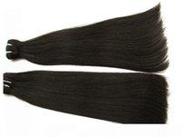 الجملة سوبر مزدوجة مرسومة مستقيم الشعر البشري حزم 1 كيلوجرام 10PCS الكثير أفضل غير المجهزة بيرو العذراء الشعر بشرة محاذاة الشعر
