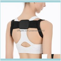 SUPPORTO SICUREZZA ATHLETIC ESTERNY COME SPORT Sport Outdoors Spine di protezione spalla postura banda di correzione banda humpback indietro dolore dolore correttore B