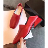 Designer Heels Dress Red Bottoms Shoes Spring Fall Lady Fashion Ladies Casual Flat Heel Real Soft Genuine Leather