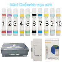 510 Atomizers Vape CHOICESLAB Carts Full Ceramic Cartridges Packaging Empty Vapes Cart 0.8ml Disposable Cartridge Thick Oil Lead Free E Cig