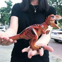 34Style Büyük Dinozorlar Yapı Taşları MOC Jurassic Park Dünya Çocuklar Hediyeler Erkek Oyuncaklar Uyumlu Şehir Figur Tuğla Dino