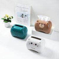 Cartoon Bathroom Toilet Paper Holder Kitchen Napkin Storage Car Tissue Box Wipes Hand Towel Dispenser Container
