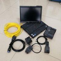 Auto Diagnise Tool dla BMW ICOM A2 + B + C Najnowsze V06.2021 Zainstalowane na X200T 4G Używany Laptop 720 GB SSD gotowy do użycia