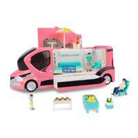 KDW Diecast Alliage Camper Model Jouet Kid Jouet, 1:20 Limousine, Voiture de tourisme, Barbecue en plein air, etc. 19 accessoires, cadeau de noël garçon, 663107, usuu