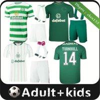 21 22 homens celtas de futebol jerseys Home 3rd Edouard Brown Duffy Taylor Christie 2021 2022 Camisa de Futebol Adulto Kit Kit Socks Uniformes