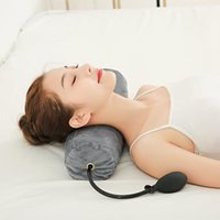 Pillow Cervical Care Latex Adjustable Column Physiotherapy Traction Neck Health Head Leg Back Support