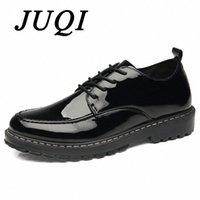 남성 신발 레이스 위로 특허 가죽 신발 남성 Zapatos Hombre Vestir 94AX #에 대 한 옥스포지