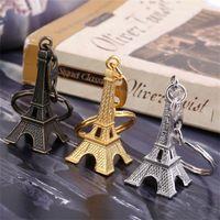 Classsic Design Paris Retro Mini Torre Eiffel Modello Carino Portachiavi Keychain Portachiavi Portachiavi Portachiavi Keyfob Regalo per le chiavi Souvenirs Paris