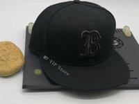 준비 주식 남성용 로스 앤젤레스 플랫 브림 스포츠 팀 아래 붉은 색 도시 이름에 야구 모자 야구 모자 폐쇄 모자 원피스