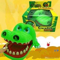 الإبداعية النكات العملية الفم الأسنان التمساح اليد للأطفال اللعب تمساح لعبة الكلاسيكية العض البنصر العائلة VT0103