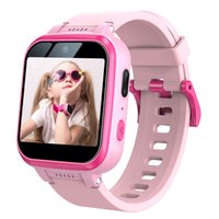 Y90 Kids Smart Watch Pink 1.54 inchIPSHDTouchScreenDual Camera Supports 5000 Photos or 50 Minutes Video 36 Watch Faces Children's Friend Pedometer Sports Wristwatch