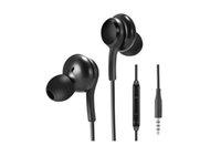 OEM Hight 품질 100 % 이어폰 이어폰 3.5mm 스테레오 헤드셋 이어 버드 헤드폰 원격 제어 마이크가있는 S10 S9 S10e S10e S8