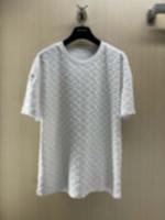 21SS MENS TEE T SHIRTS PARIS Punto de punto Toalla Bordado Carteles Hombres Ropa de manga corta Hombres Camisas Tag letras Polo Nuevo Negro Blanco Azul