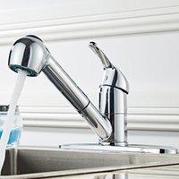 WACOキッチンバスルームシンク蛇口、噴霧器、洗面器、洗面台#b、クロムプレートのための単一のハンドル洗面器のミキサー蛇口