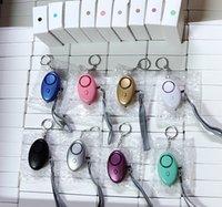 130dB Forme d'œuf Forme de l'autodéfense Alarm Garçon Garçon Femmes Sécurité Sécurité Alerte Sécurité personnelle Scream Scream Screen Loud Keychain Alarme Livraison gratuite